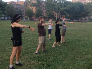 Wing Chun Training 2014 07 08_20