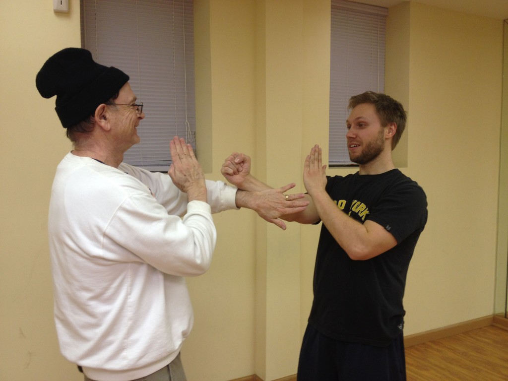 Wing Chun Training: January 15, 2015