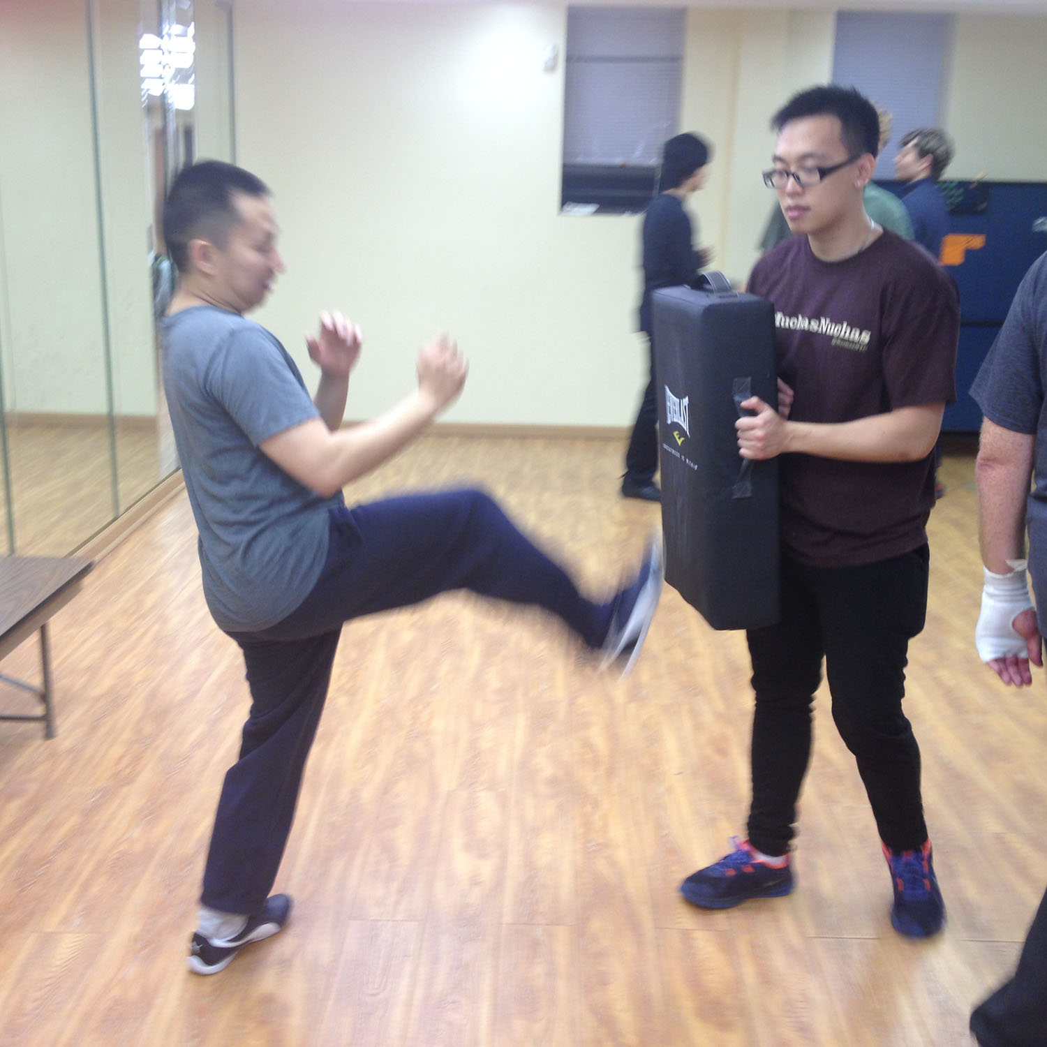 Wing Chun Training: November 19, 2015