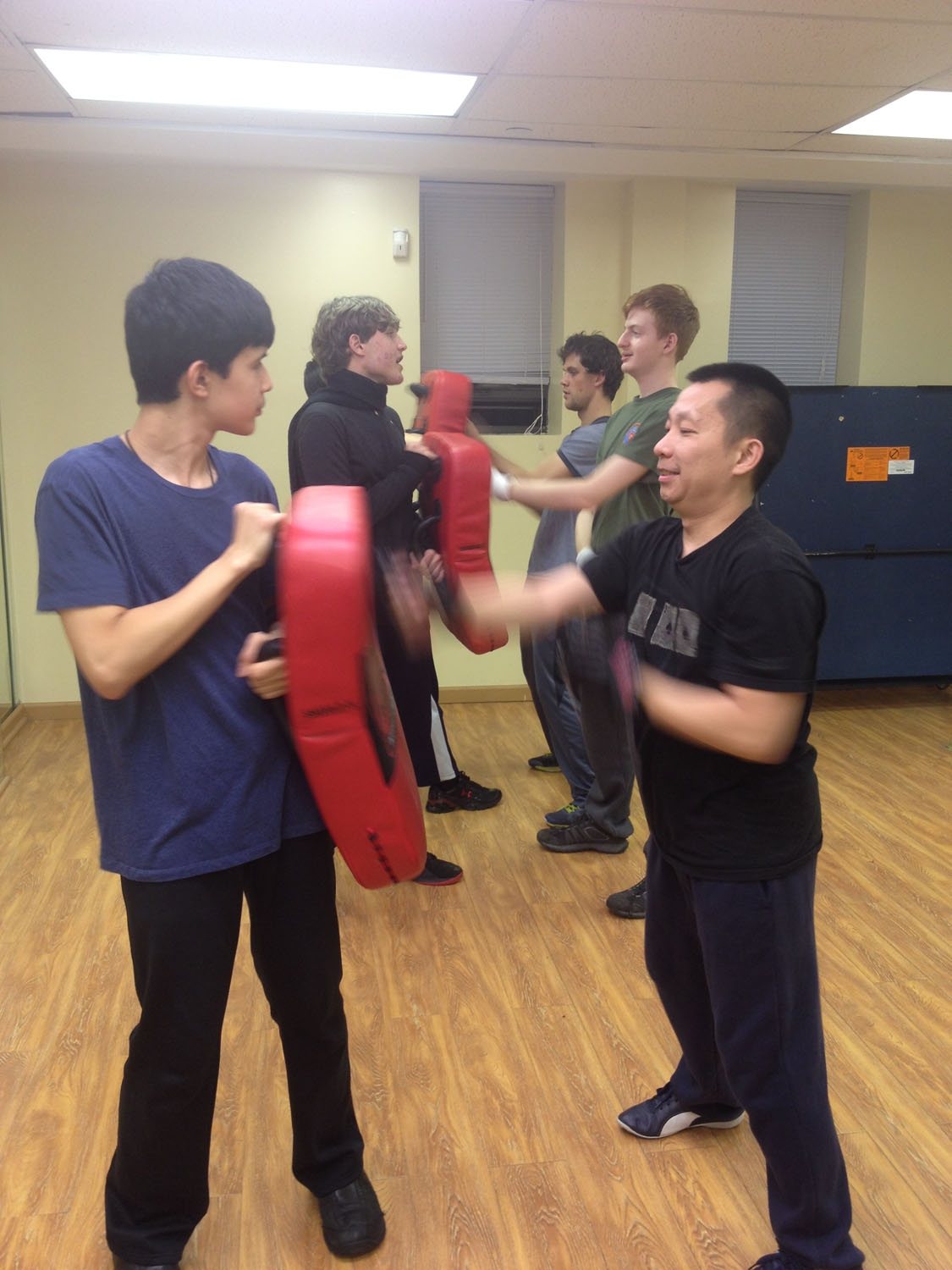 Wing Chun Training: December 22, 2015